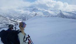 Jordalen: esquí de travesía sobre el fiordo más espectacular de Noruega.