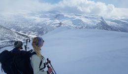 Jordalen: Ski touring over the most spectacular fjord in Norway.